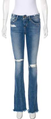 Joe's Jeans Mid-Rise Flared Jeans