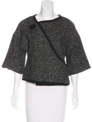 Marc Jacobs Asymmetrical Wool-Blend Jacket