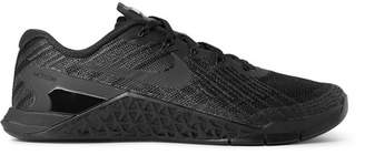 Nike Training - Metcon 3 Textured-Mesh and Rubber Sneakers