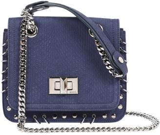 Emilio Pucci Navy Suede Clutch Bag
