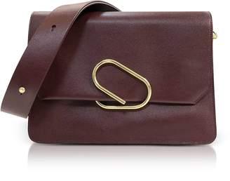 3.1 Phillip Lim Bordeaux Leather Alix Shoulder Bag