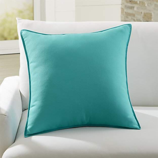 Sunbrella ® Canvas Aruba 20″ Sq. Outdoor Pillow