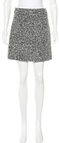 Kate SpadeKate Spade New York Textured Mini Skirt