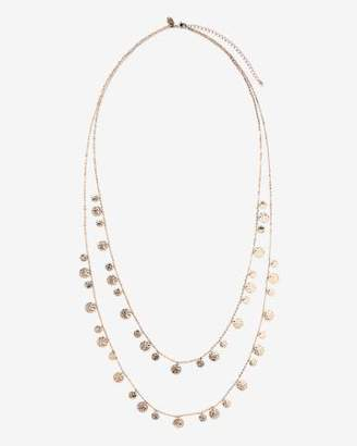 Addition Elle Two-Row Necklace with Mini Discs