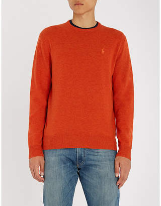 Polo Ralph Lauren Embroidered logo wool jumper