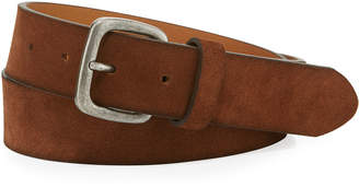 Joe's Jeans Washed Suede 35mm Belt