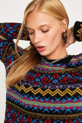 Urban Outfitters Color Pop Fair Isle Sweater