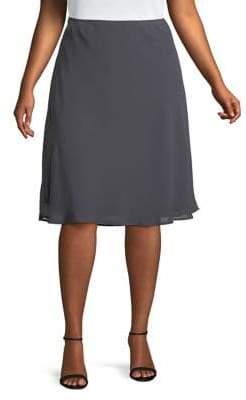 Nic+Zoe Plus Paired-Up Skirt