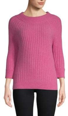 Saks Fifth Avenue Classic Three-Quarter Sleeve Sweater