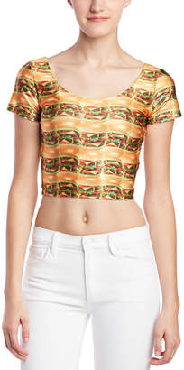 Zara Terez Cheeseburger Crop Top