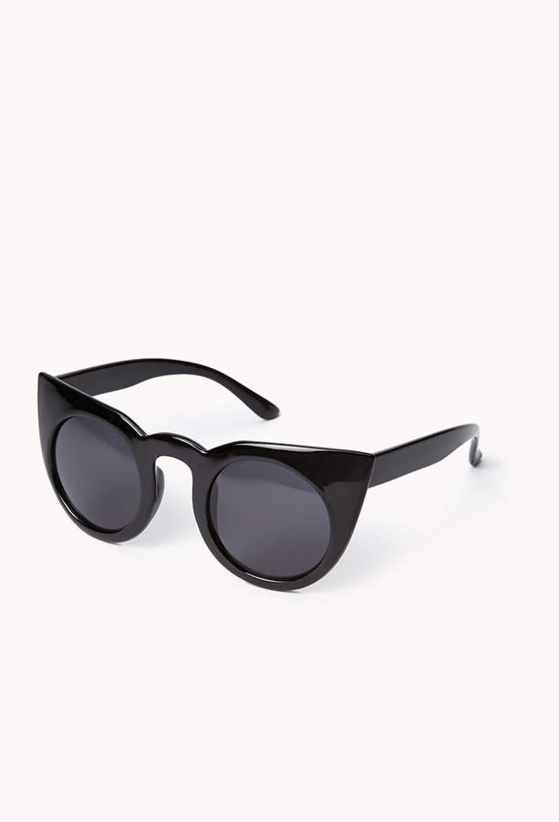 Forever 21 F0606 Retro Cat-Eye Sunglasses