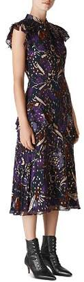 Whistles Montrose Printed Dress
