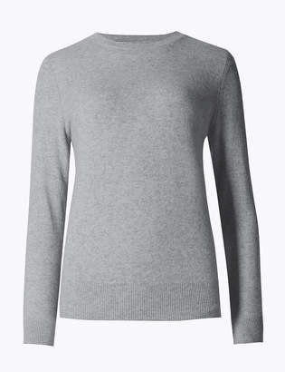 AutographMarks and Spencer Pure Cashmere Round Neck Jumper