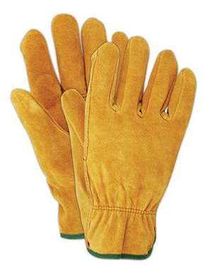 BIG TIME PRODUCTS LLC Big Time Products 9113-26 Suede Leather Work Gloves, Men's Large