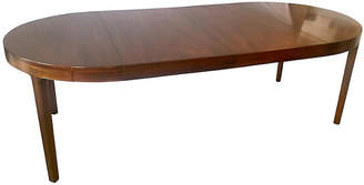 One Kings Lane Vintage 1940s French Mahogany Extension Table - Antiques on Jackson