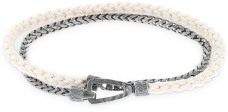 Lash Chain & Rope Double Bracelet