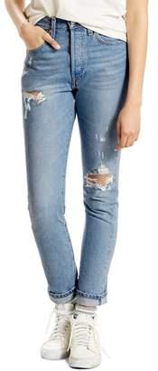 Levi's 501 High Waist Skinny Jeans