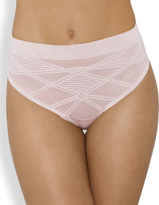 Nancy Ganz Sheer Decadence Shaping High-Waist G-String