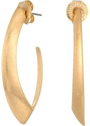 Robert Lee Morris Gold Open Hoop Earrings Earring