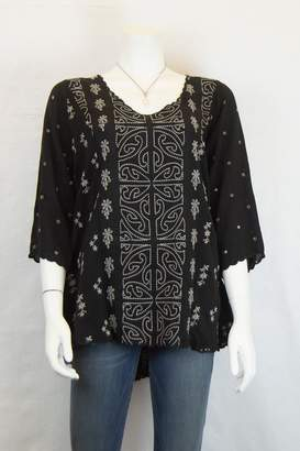 Johnny Was Collection Ridden Blouse