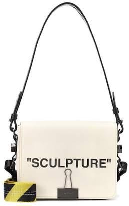 Off-White Binder Clip canvas shoulder bag