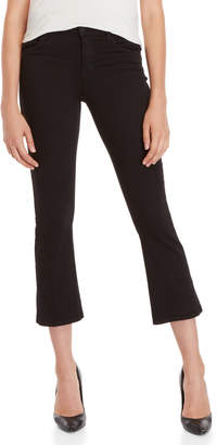 J Brand Selena Mid-Rise Cropped Boot Cut Pants