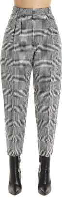 Alexander McQueen Prince Of Wales Checkered Trousers