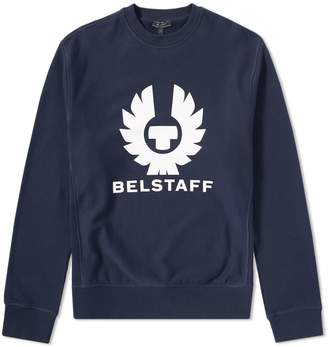 Belstaff Holmswood Logo Crew Sweat