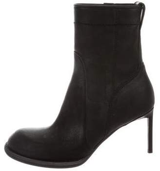Haider Ackermann Round-Toe Leather Boots