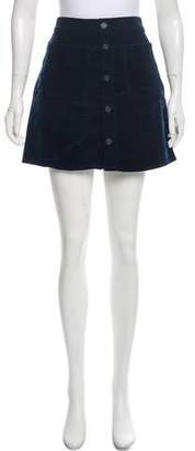 Mother Corduroy Mini Skirt w/ Tags