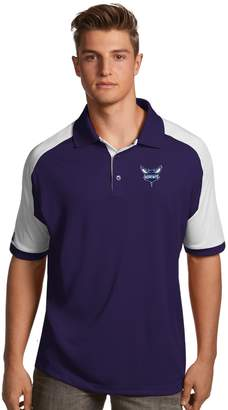 Antigua Men's Charlotte Hornets Century Polo