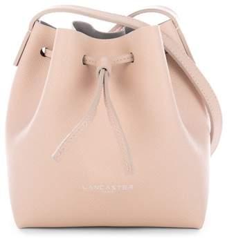 Lancaster Paris Pur Saffiano Leather Mini Bucket Bag