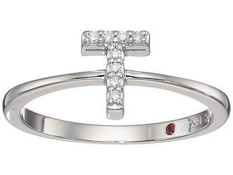 Roberto Coin Tiny Treasure Initial T Love Letter Ring