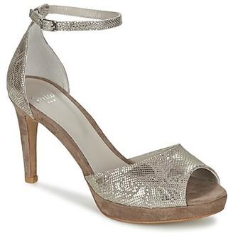 Perlato OLALLA women's Sandals in Silver