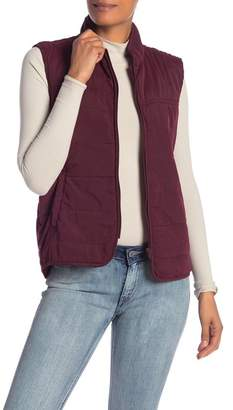 SUPPLIES BY UNION BAY Peached Ruth Quilted Vest