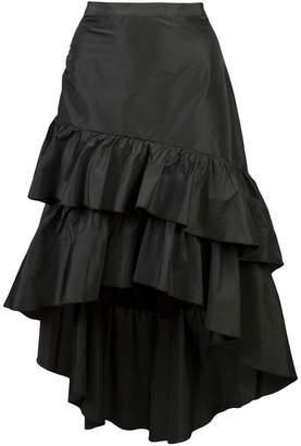 Cynthia Rowley ruffle midi skirt