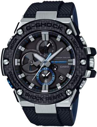 Casio G-Steel Carbon Bezel Analogue Watch