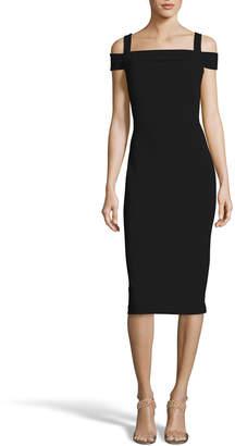Label By 5twelve Cold-Shoulder Fitted Sheath Dress