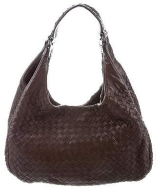 Bottega Veneta Intrecciato Leather Shoulder Bag brown Intrecciato Leather Shoulder Bag