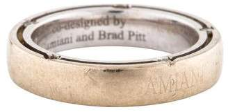 Damiani & Brad Pitt 18K Diamond Wedding Band Ring