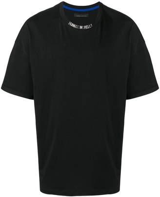 Frankie Morello logo crew neck T-shirt