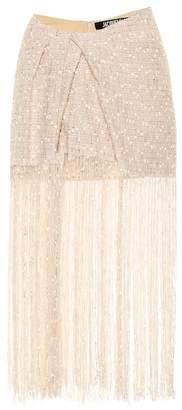 Jacquemus La Jupe Capri fringed miniskirt