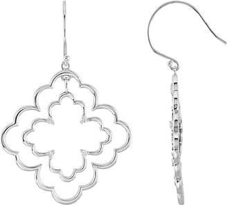 Bonyak Jewelry 1/8 ct tw Diamond Earrings in Sterling Silver