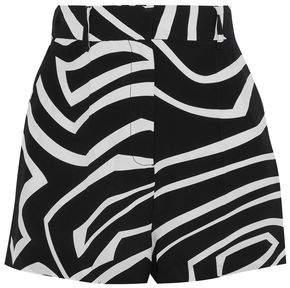 Emilio Pucci Printed Silk Crepe De Chine Shorts