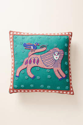 Anthropologie Beaded Marley Pillow