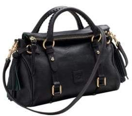 Dooney & Bourke Florentine Mini Leather Satchel $318 thestylecure.com