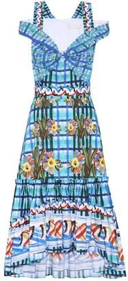 Peter Pilotto Printed cotton dress
