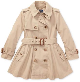 Polo Ralph Lauren Toddler Girls Cotton Trench Coat