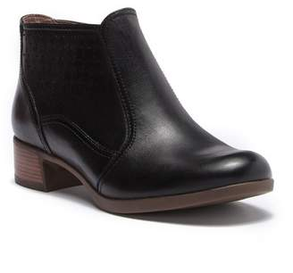 Dansko Liberty Burnished Nappa Leather Ankle Bootie
