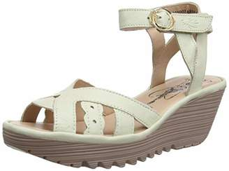 ef46bf284d9386 Fly London Women s s Yrat021fly Ankle Strap Sandals